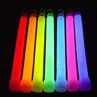 "2019 Factory Direst OEM 6"" Glow Stick with Cheering Stick for Party Flashing Glowsticks"