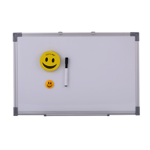Large School Office Home Magnetic Dry erase writing white board in aluminum frame for cheap price sale