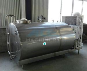 Baby Food Milk Processing Full Line Sanitary Milk Cooling Tank Used On Milking Processingline