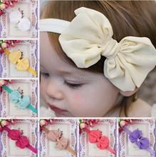 Cute Kids  Baby Girls headband Toddler Infant Bowknot Headband Hair Bows Band accessories