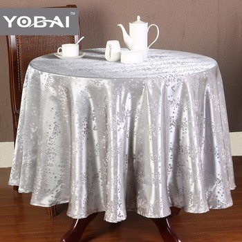 Adhesive 108 Inch Round Tablecloth Fancy Table Cover