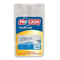 15ml Credit Card Hand Sanitizer