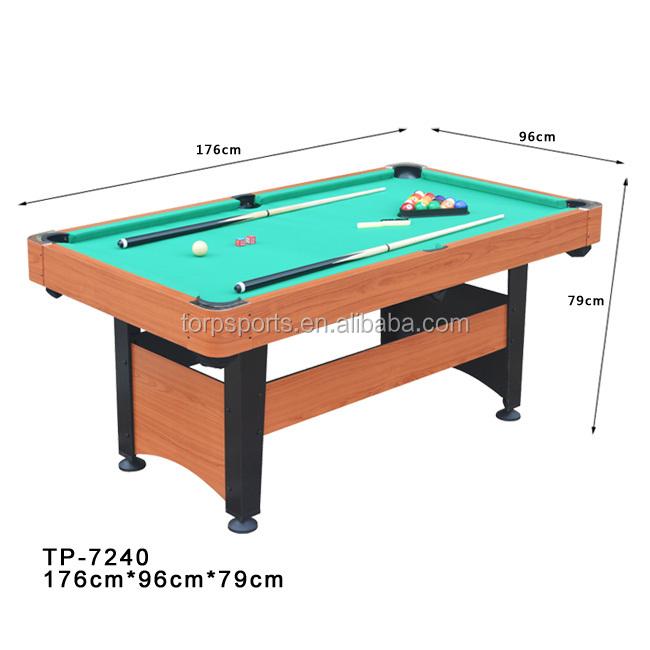 Amazing 72 Inchs Pool Game Table 6 Foot Billiard Table Tp 7240   Buy Pool Game Table ,Billiard Table,Game Table Product On Alibaba.com