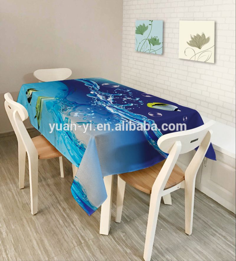 fiber optic illuminated table clothes