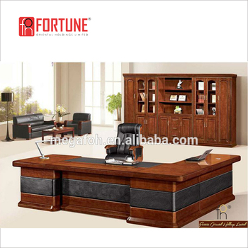 Boss Office Table With Pedestal Large Size Executive Furniture Fohs A33133