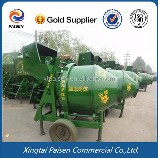 best selling diesel motor sand cement mixer/ machine to mix concrete/mortar