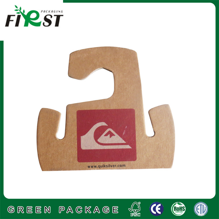 fashion design quality craft paper cardboard hanger for clothes