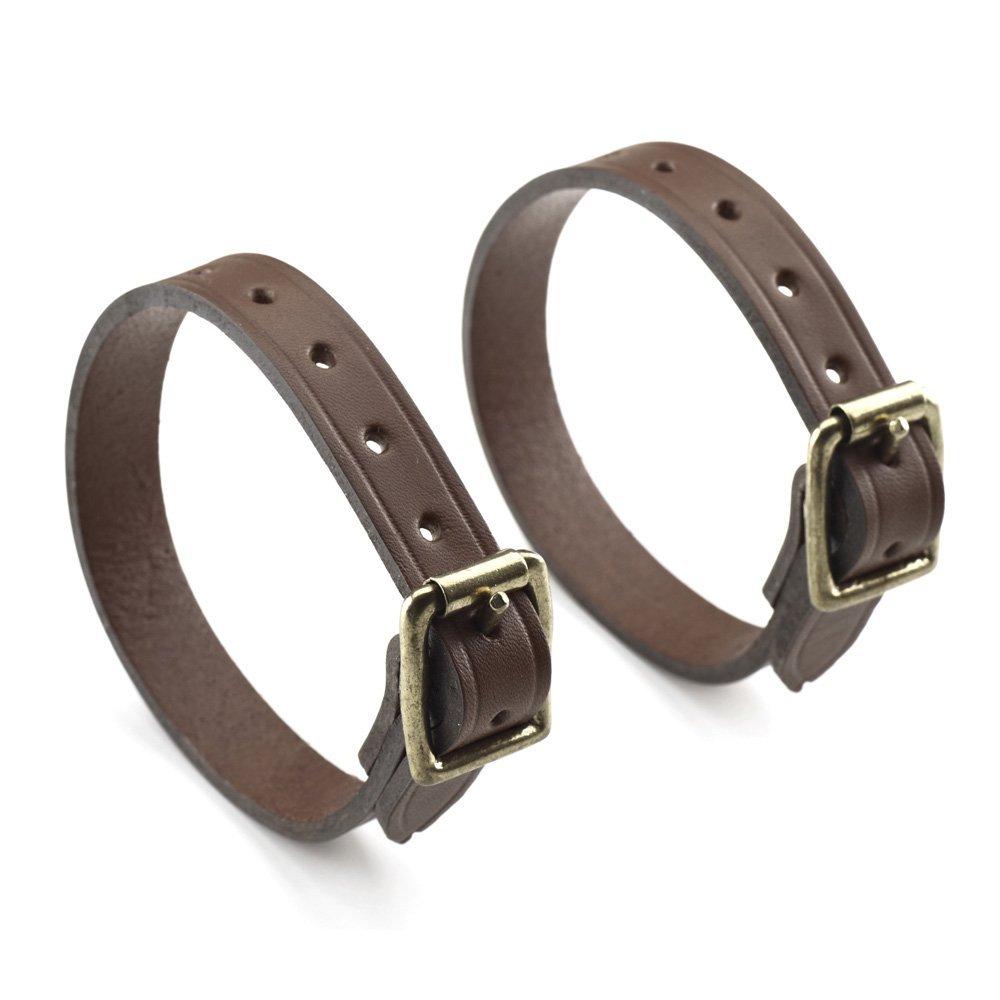 "Billingham 5/8"" Leather Tripod Straps, Pair, Chocolate"