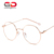 fashion men metal optical spectacle frame round student reading eyeglasses women lovely oculos male myopia glasses frames