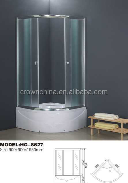 Cheap Wholesale simple shower cabin,shower room,shower box wall mounted rustic bathroom cabinets