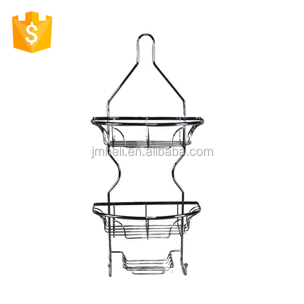 hot sell wire bathroom rack with suction cup
