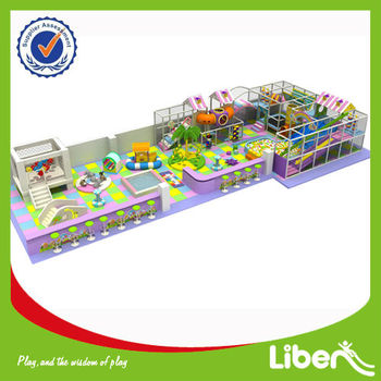 Liben Group Indoor Soft Playground LE-BY027