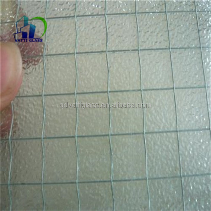 Reinforced Wire Mesh Glass/wire Mesh Security Glass/wire Reinforced ...