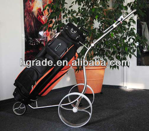 2014 Power stainless steel electric golf caddy