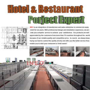 Offer Design And Installation Service Guangzhou INEO All Of Commercial Hotel Equipments Include Bar And Buffet