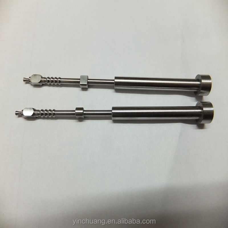 High quality precision tungsten carbide linear shaft guide pin dowel pin core pin mechanical parts