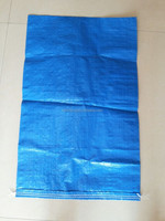 100% pure virgin blue pp woven bag 50kg thailand rice bags export to Pakistan
