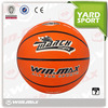 hot sell custom size 7 high quality standard cheap rubber basketballs