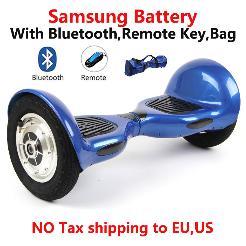 Self Balancing Scooter 10 Inch Hoverboard Bluetooth+Samsung Battery+Bag+Remote