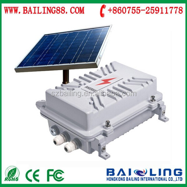 2015 hot sale intelligent gsm sms power monitoring alarm solar-powered power gsm alalrm system