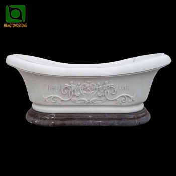 Unique Natural Marble Stone Bathtubs Low Price