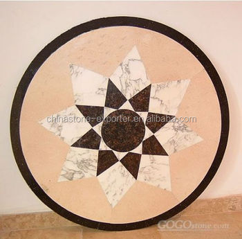 Marble Flooring Border Designsflower Floor Design