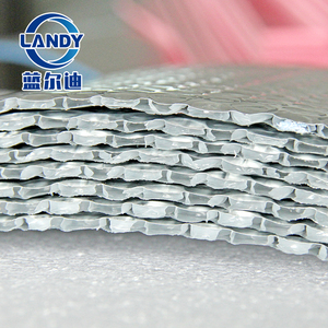Flame retardant roofing aluminum foil 4 mm air bubble foil insulation construction materials for warehouse metal roof frame