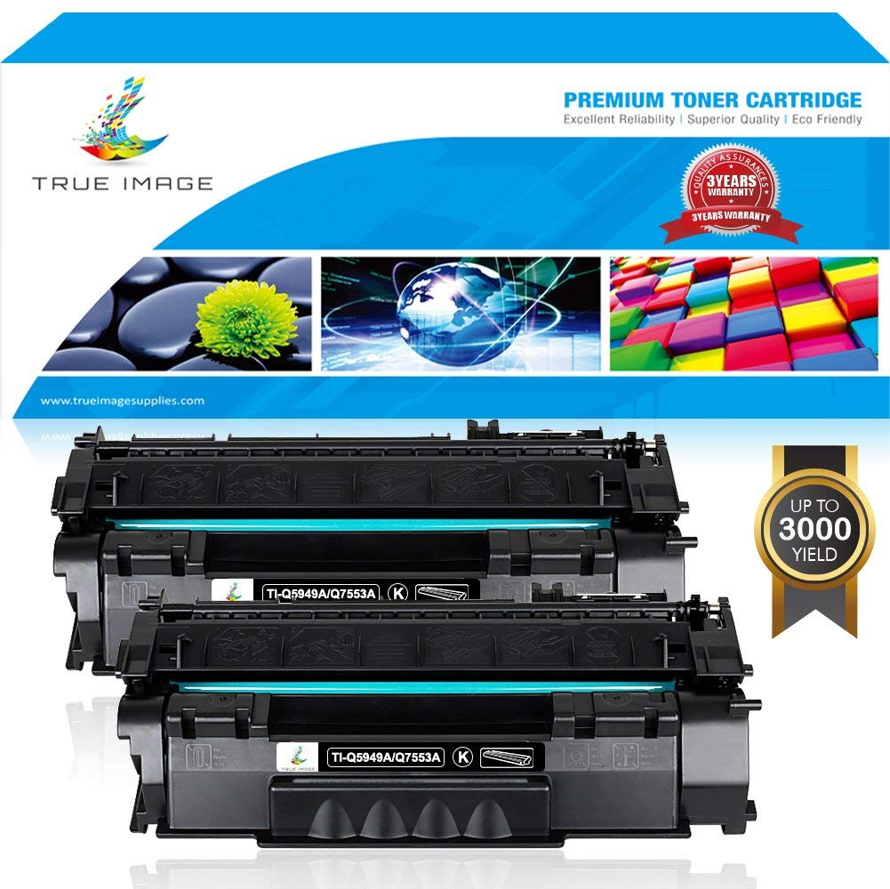 1320N Black Works with: Laserjet 1320 1320NW 1320TN 3392 MS Imaging Supply Compatible Toner Replacement for HP Q5949X 3390