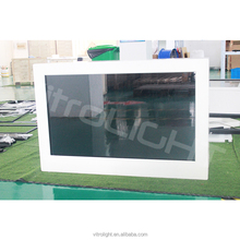 transparent lcd display cabinet and showcase for jewelry shop