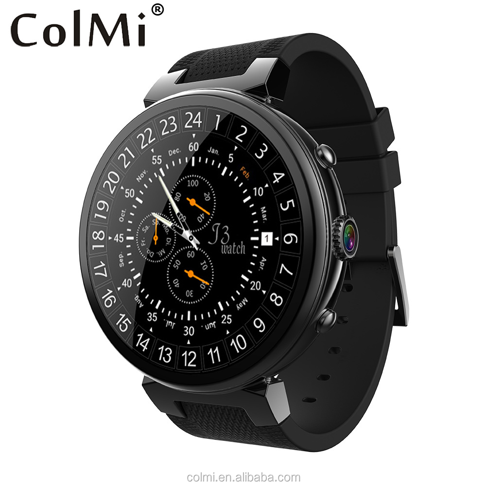 Big Memory I3 Ram 2gb Rom 16gb 2mp 3g Wifi Gps Heart Rate Monitor Smartwatch For Ios Android Phone