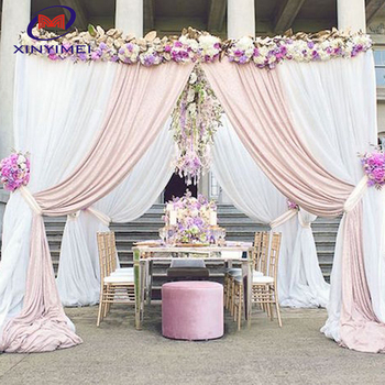 Factory Manufacture Directly Wedding Backdrops For
