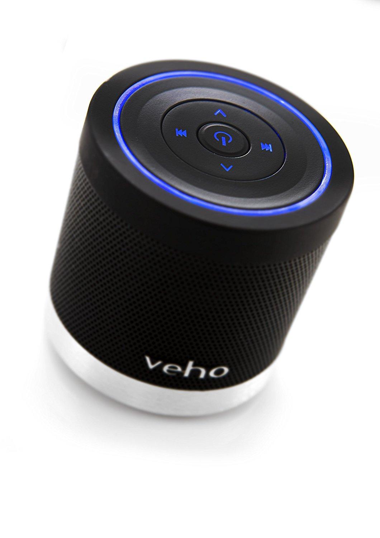 Veho Bluetooth Speaker   Wireless   Bluetooth   Portable   Rechargeable   Bass   Travel