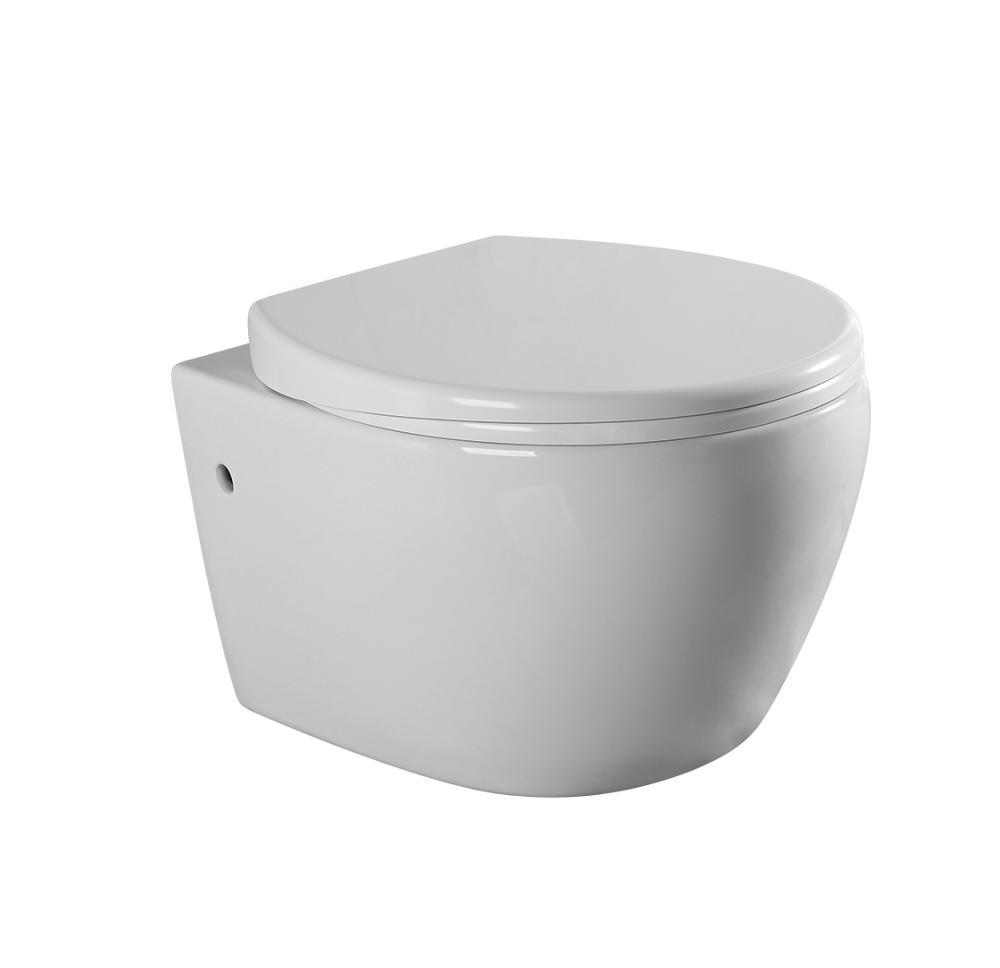 Bathroom Karat Style One Piece Parts Flush Tank Wall Hung Toilet ...