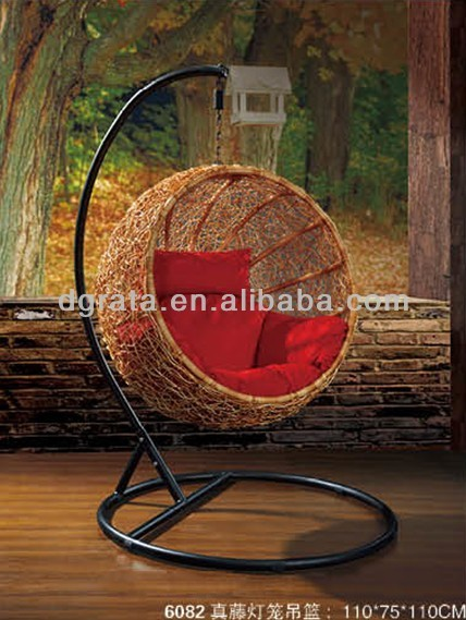 2014 Modern Outdoor Bird Nest Design Chair Is Made By Real Rattan To Be  Finished