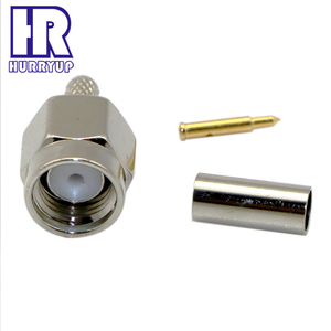 RF Coaxial F toJ male Straight waterproof F connector