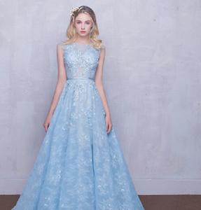 bbcad7a275 Ice Blue Wedding Dress