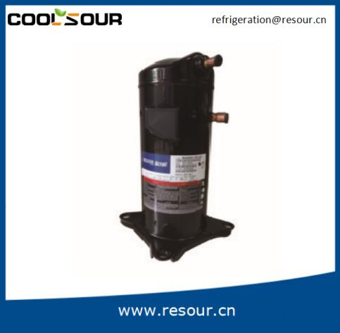Machinery Repair Shops Applicable Industries Copeland Type Scroll Air Compressor , Refrigeration Parts