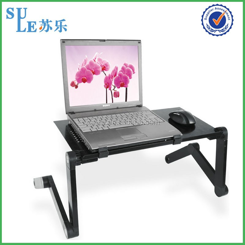 Wholesale big load laptop desk height adjustable desk standing desk for sofa