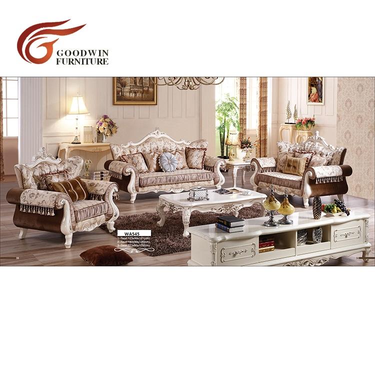 Victorian classic sofa sets designs pictures living room furniture of turkey sofa set WA545