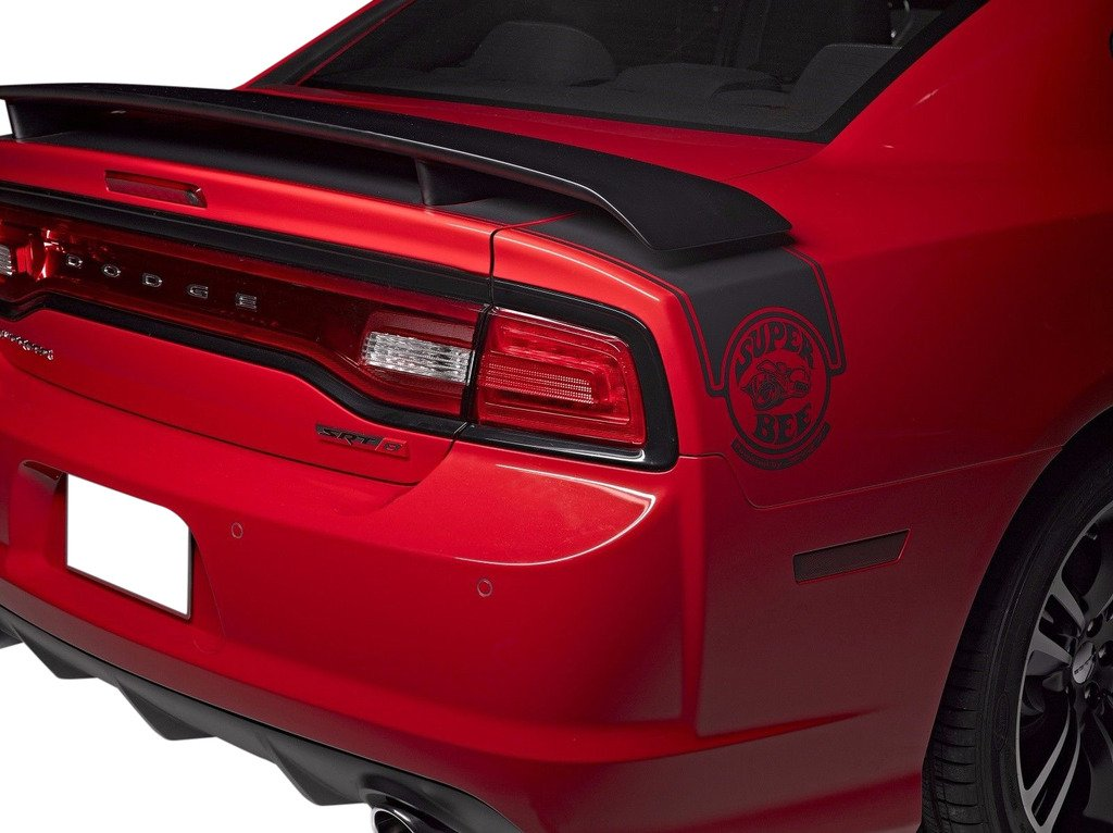 Painted Factory Style Spoiler for the 2015-2018 Challenger 550 PX8