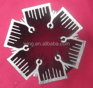 aluminium heatsink extrusions profile for led lamp
