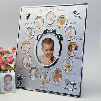 First Year Baby Photo Frame 12 Months Baby Photo Frame Buy First