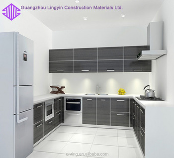 Small Kitchen Design Color High Gloss Kitchen Cabinets With Cast