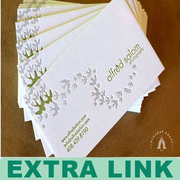 Letterpress business cards letterpress business cards suppliers and letterpress business cards letterpress business cards suppliers and manufacturers at alibaba colourmoves Choice Image