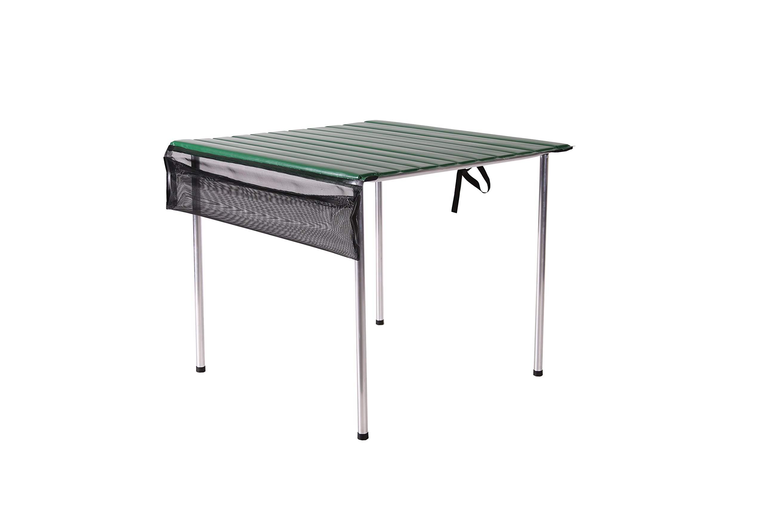 Camp Time, Roll-a-Table, Green, Fold Up Roll Out Table Top, Compact, Portable, USA Made …