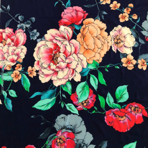 Digital Print 82%Nylon 18% Spandex Stretch Spandex Fabric for Swimwear