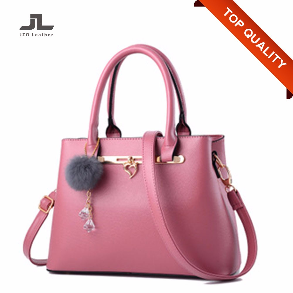 China Factory Fashion Minimalism Women/Ladies PU DS Purses Bags Handbags