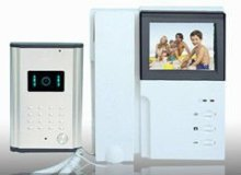 "2012 Cheapest Color memory door phone video with 4"" TFT LCD IR ccd Camera"