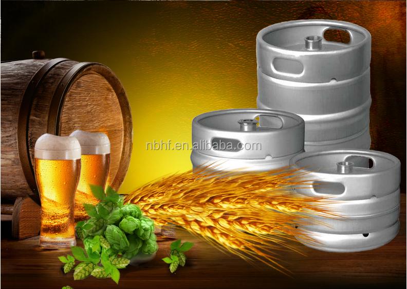 Euro Padrão 30L Barril de Cerveja, BV Aprovado Pela ISO 9001 e GV Food-grade de cerveja do barril