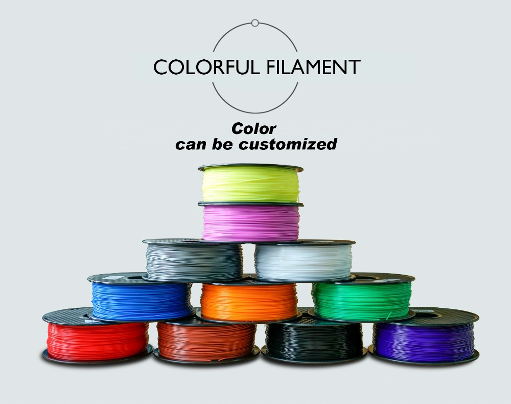 3mm Abs Pla Filament Abs Pla Heupen Pva Pc Tpe Tpu 3d Printer Filament